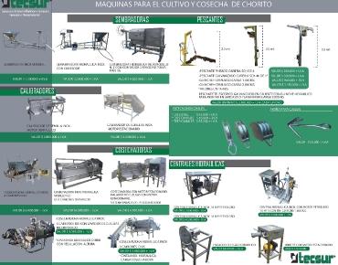 Catalogo Maquinaria cultivo y cosecha